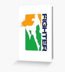 Sporty Leggings Greeting Card