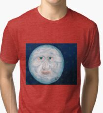 The Alabaster Simpleton (The Moon) Tri-blend T-Shirt
