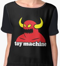 Toy Machine Women's Chiffon Top