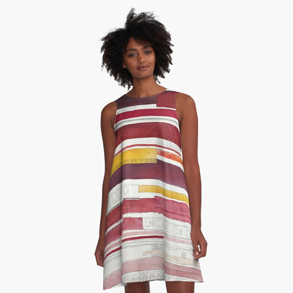Lisbon A-Line Dress