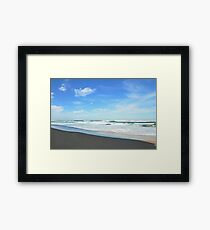 Shore Lines - Great Ocean Road Framed Print
