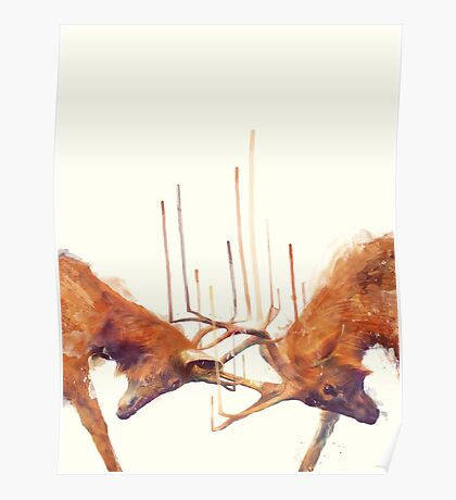 Stags // Strong Poster