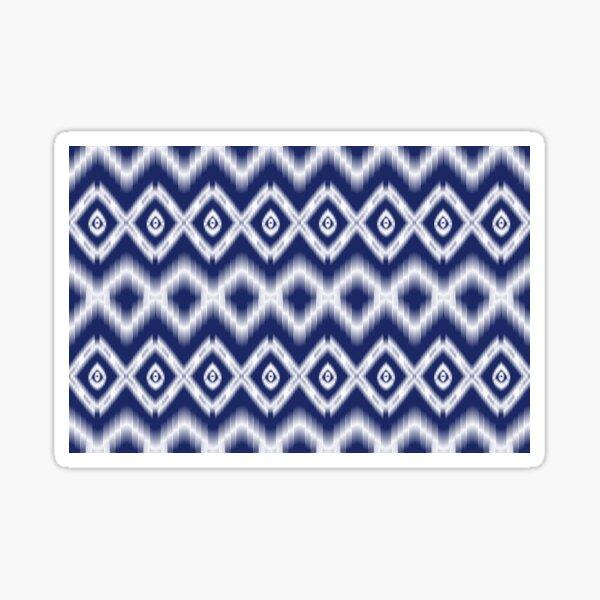 Ethnic seamless ikat pattern  Sticker