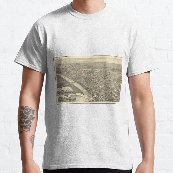 Lake Winola Pennsylvania PA Penn T-Shirt MAP