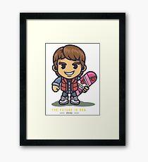 Marty Ninja Framed Print