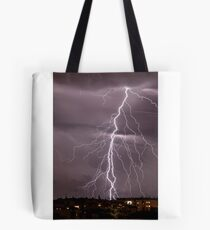 A thunder in the sky Tote Bag