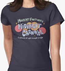 Mommy Fortuna's Midnight Carnival Womens Fitted T-Shirt