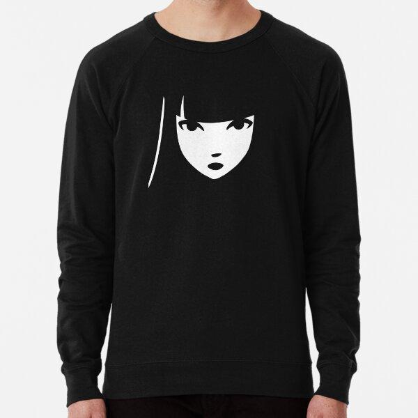 Emily the Strange: Emily's face Lightweight Sweatshirt