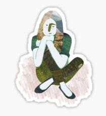 Dreaming / Zen girl Sticker