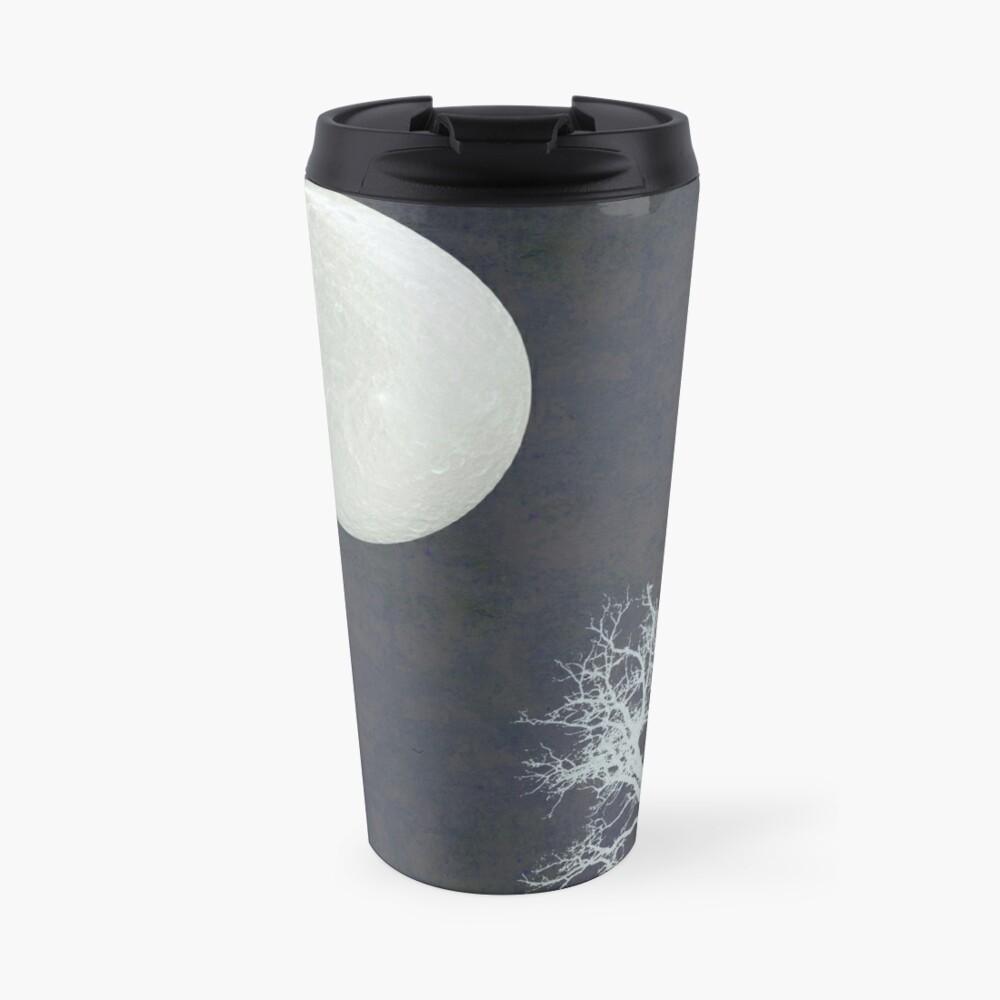 With that moon language Travel Mug