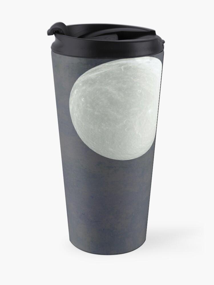 Alternate view of With that moon language Travel Mug