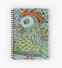 Funky cockrel Spiral Notebook