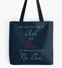Heir of Ash And Fire Tote Bag