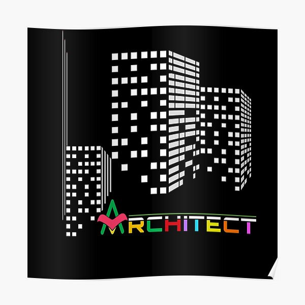 Architect - Colors Poster