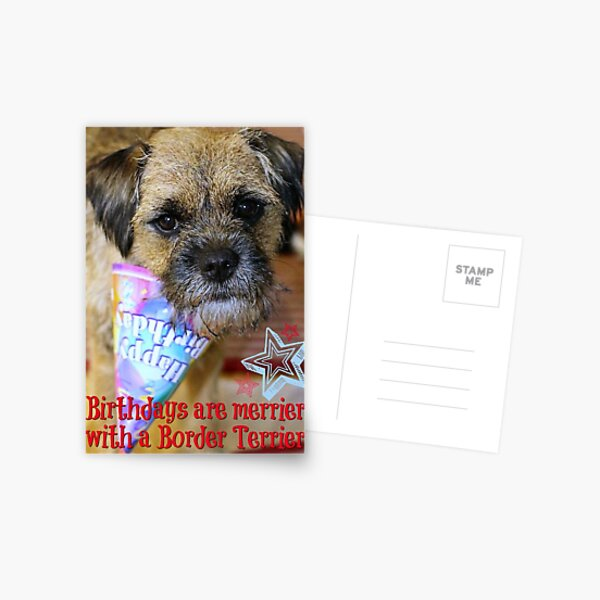 Birthdays are merrier... Postcard
