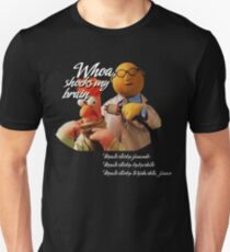 Phish Meatstick Muppets Mustard Yellow Slim Fit T-Shirt