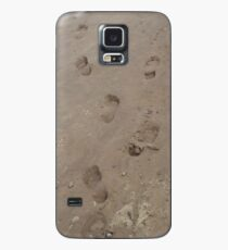 Footsteps on the Beach Case/Skin for Samsung Galaxy