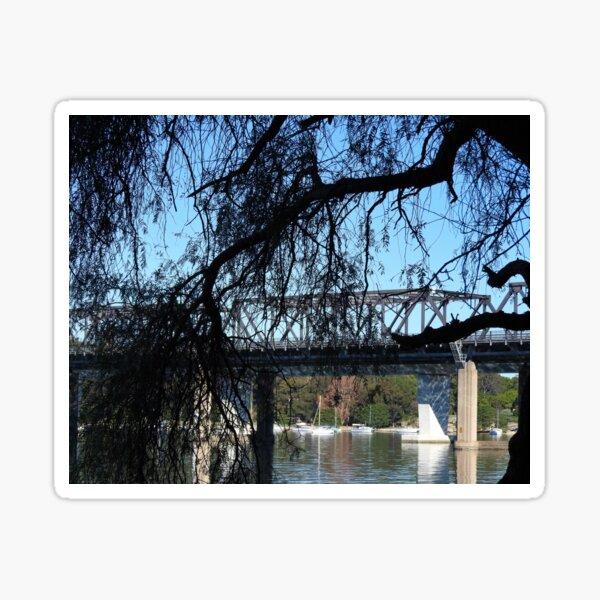 Iron Cove Bridge Drummoyne Sticker