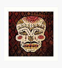 'Sweet Sugar Skull #2' Art Print