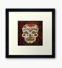 'Sweet Sugar Skull #2' Framed Print