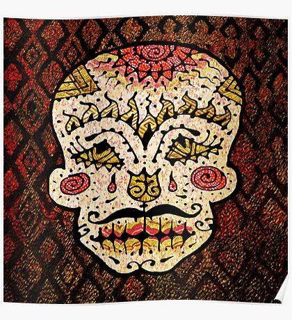 'Sweet Sugar Skull #2' Poster