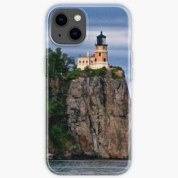 Light on the Cliff - Lake Superior, Wisconsin iPhone Soft Case