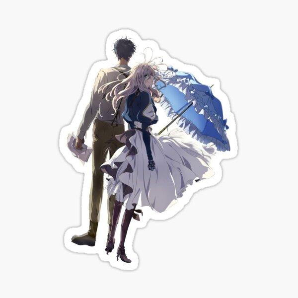 Violet et Gilbert [Violet Evergarden] Sticker