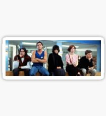 The Breakfast Club Sticker