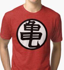 Kame Senin Kanji T-shirt chiné