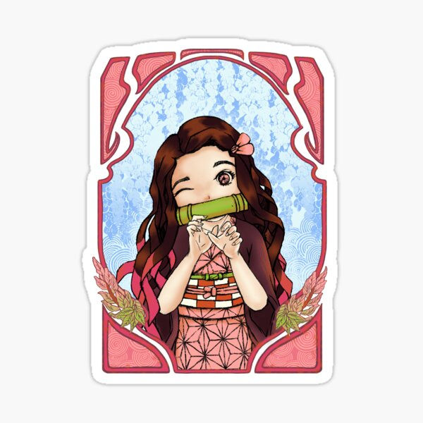 Love Nezuko  Sticker