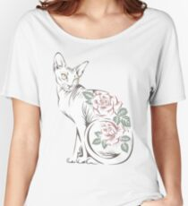 Cat sphinx Women's Relaxed Fit T-Shirt