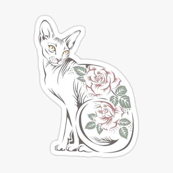 Cat sphinx Sticker
