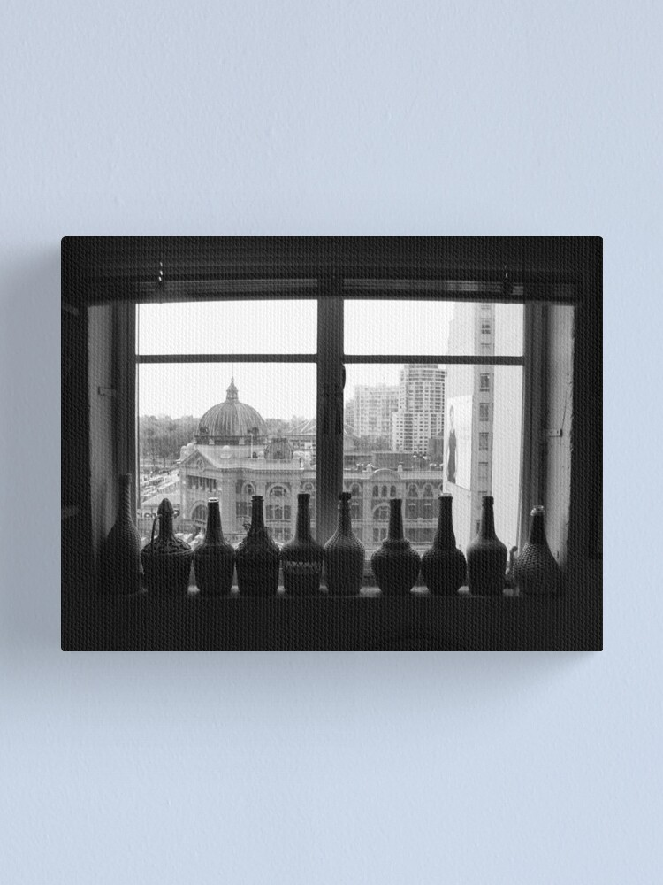 Alternate view of Flinders St Inside & Out Canvas Print