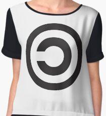 Copyleft Symbol - Support the Free Web! Women's Chiffon Top