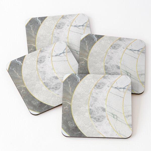 Marble Ripple Coasters (Set of 4)