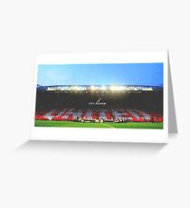 Manchester United - Old Trafford Greeting Card