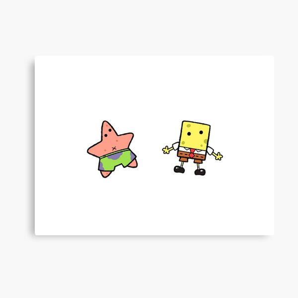 Sponge and Star Canvas Print