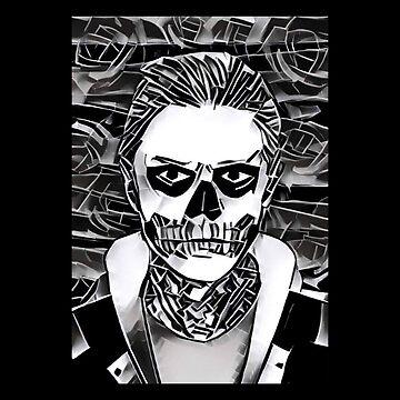 Tate Langdon Skull // full by GalaxyBeyond