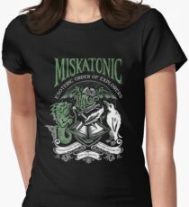 Miskatonic Esoteric Order of Explorers Women's Fitted T-Shirt