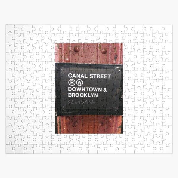 Street, City, Buildings, Photo, Day, Trees, New York, Manhattan, Brooklyn Jigsaw Puzzle