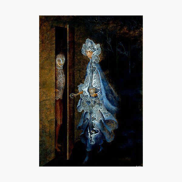 The Encounter, by Remedios Varo Photographic Print