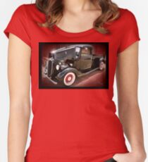 '37 Ford Pick Up Women's Fitted Scoop T-Shirt