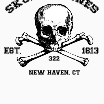 Skull and Bones T-Shirt by bbaileykmg