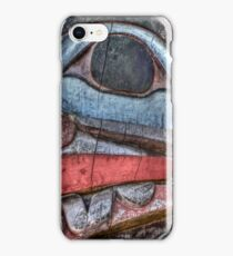 Haida First Nations Totem Carving iPhone Case/Skin