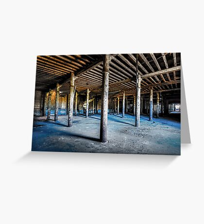 Abandoned Factory Greeting Card