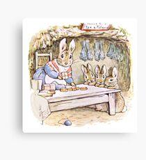 Beatrix Potter Bunnies Canvas Print