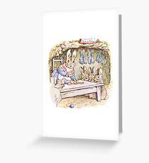 Beatrix Potter Bunnies Greeting Card