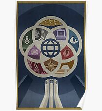 EPCOT Center iPhone and TShirt Poster