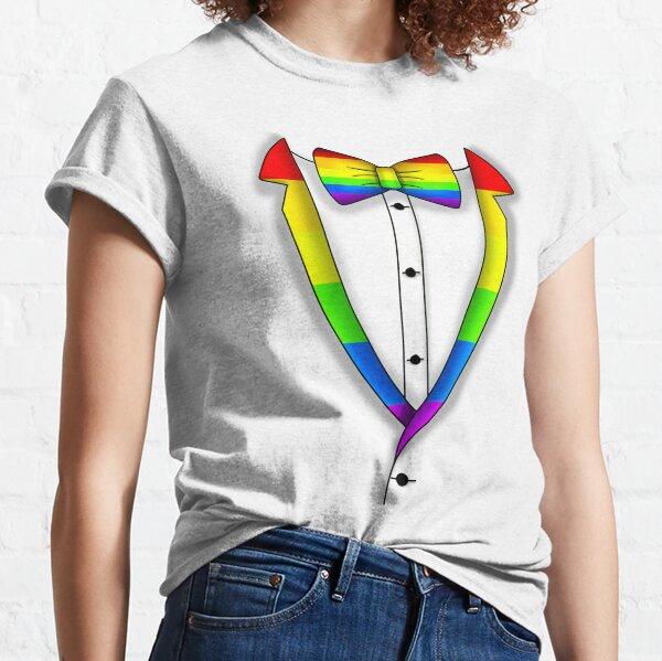 Rainbow Tuxedo  Classic T-Shirt