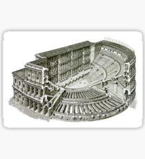 Colosseum in Rome, Italy Sticker